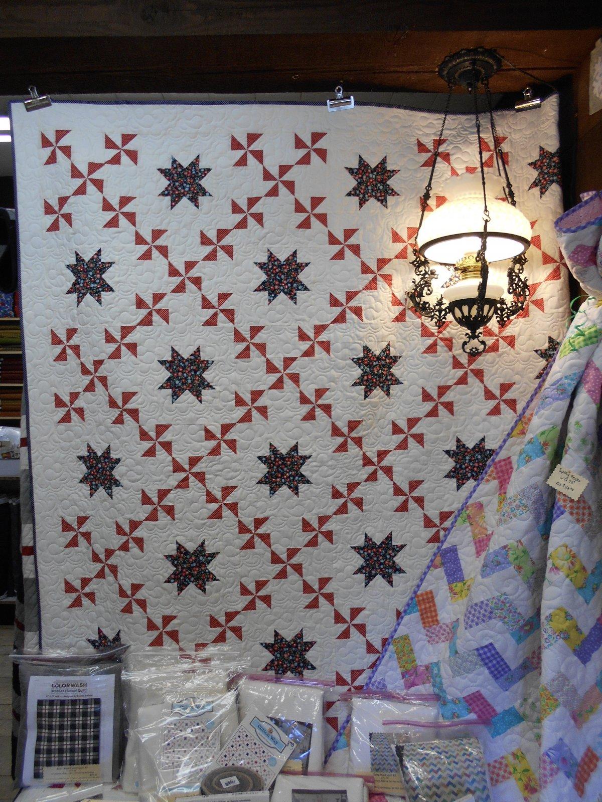 Spinning Stars Quilt Kit
