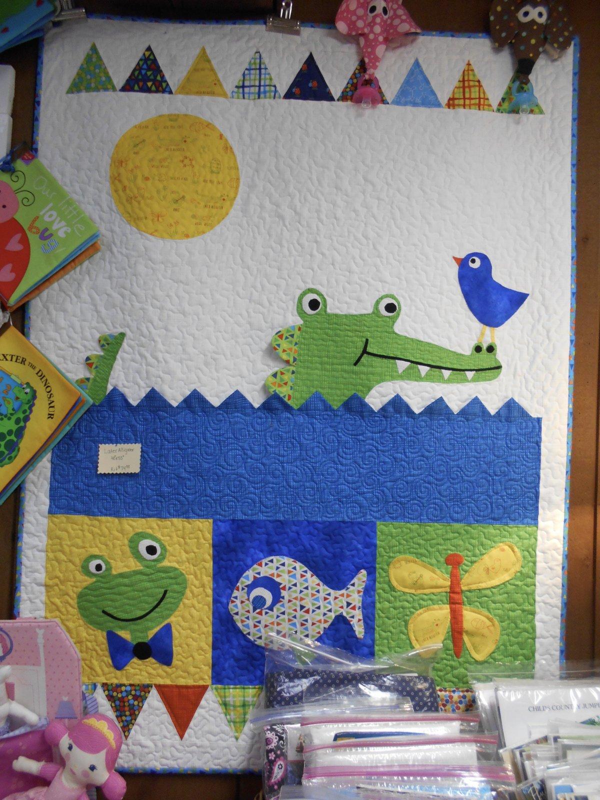 Later Alligator Quilt Kit