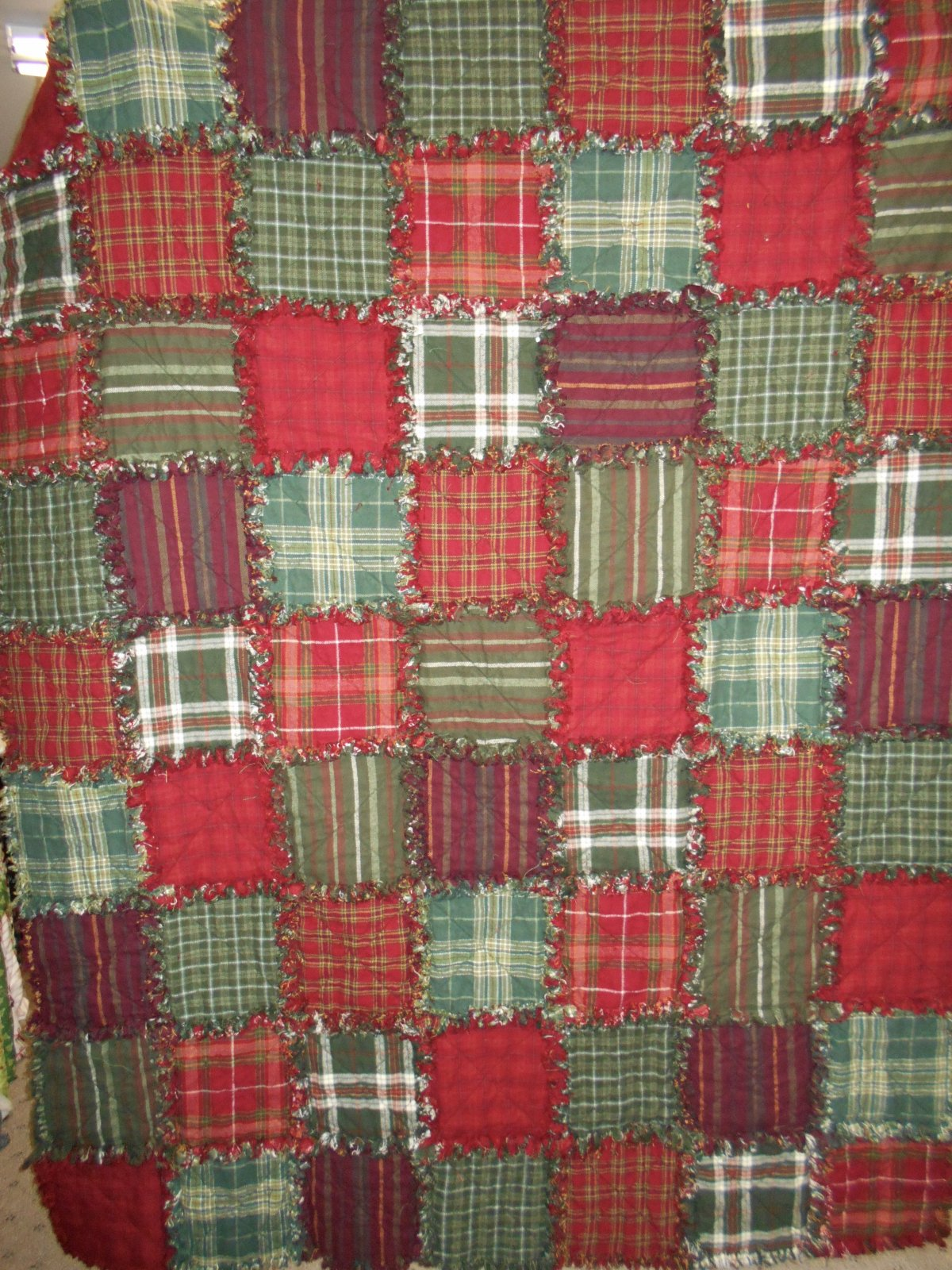 Comfy Flannel Raggy Quilt Kit
