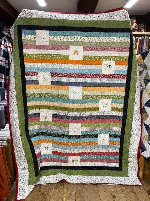 Animal Crackers Jelly Roll Quilt Kit