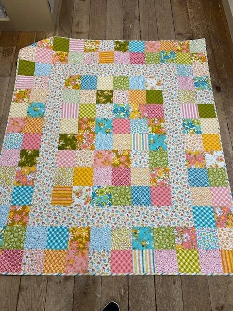 Blooming Bunch Charming Lap Quilt Kit