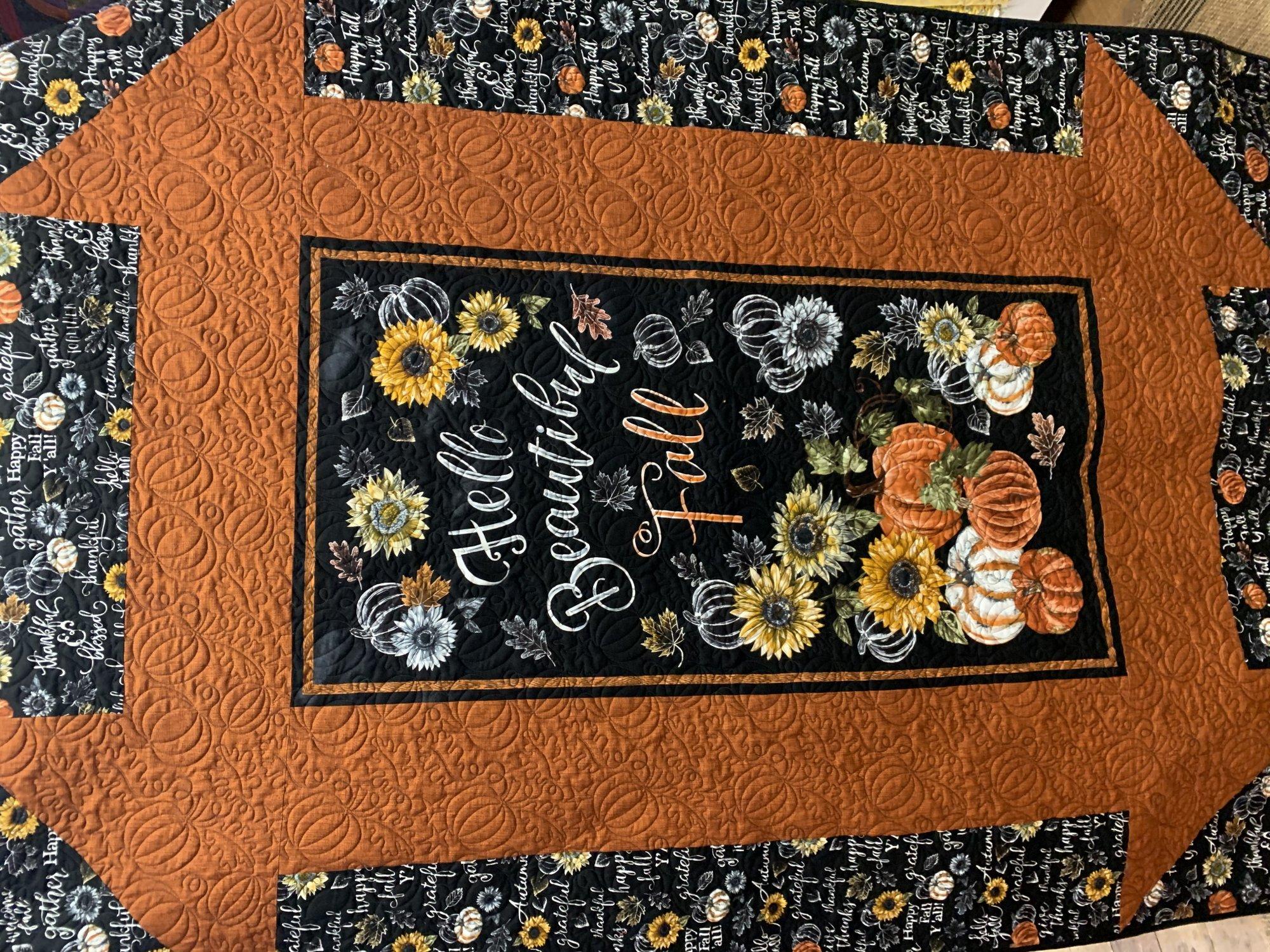 Hello Fall Churn Dash Quilt Kit