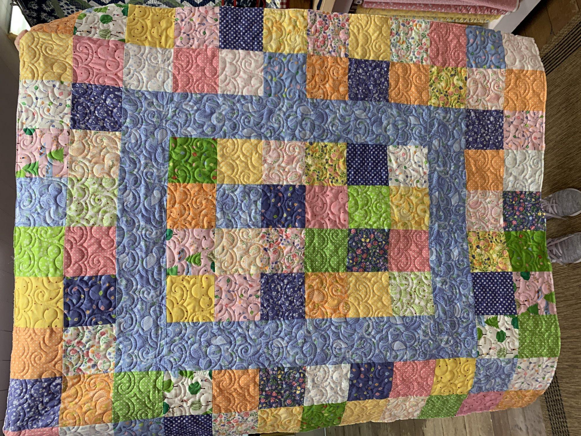 Sunday Picnic Quilt Kit