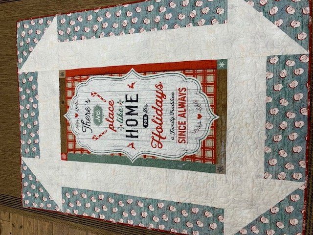 Christmas Memories Churn Dash Quilt Kit