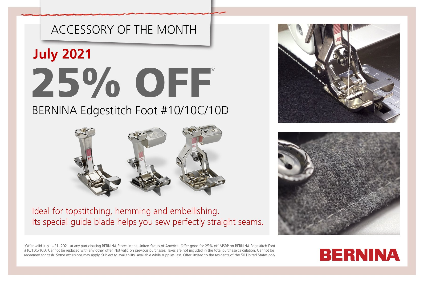 July Accessory of the Month