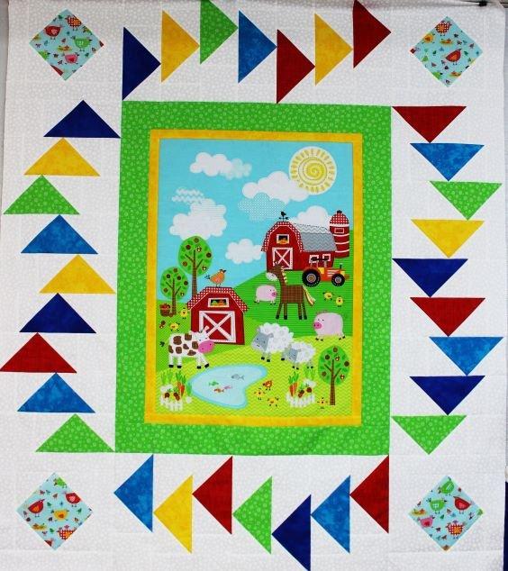 Happy Farm Quilt Kit