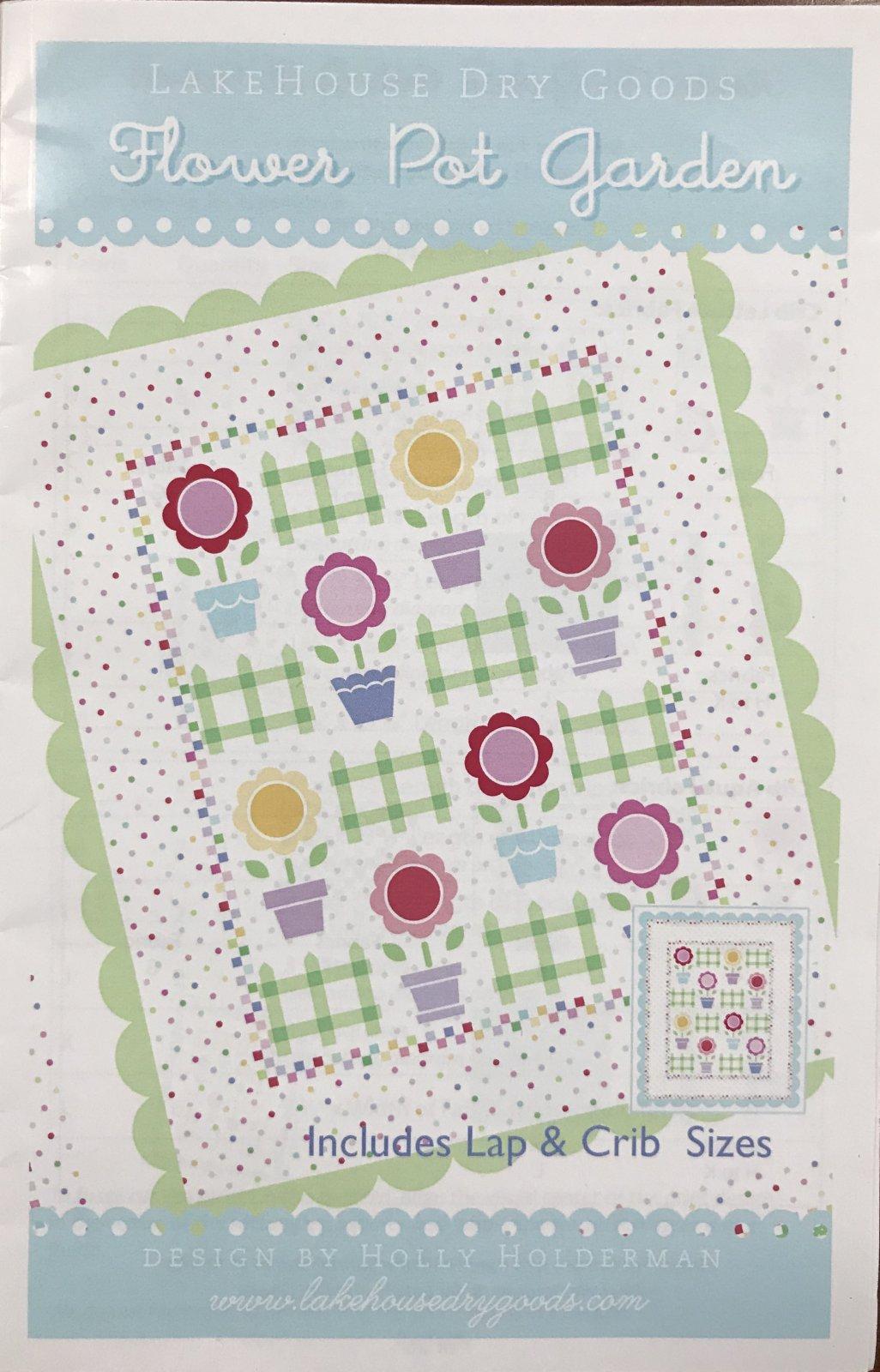 Flower Pot Quilt Kit