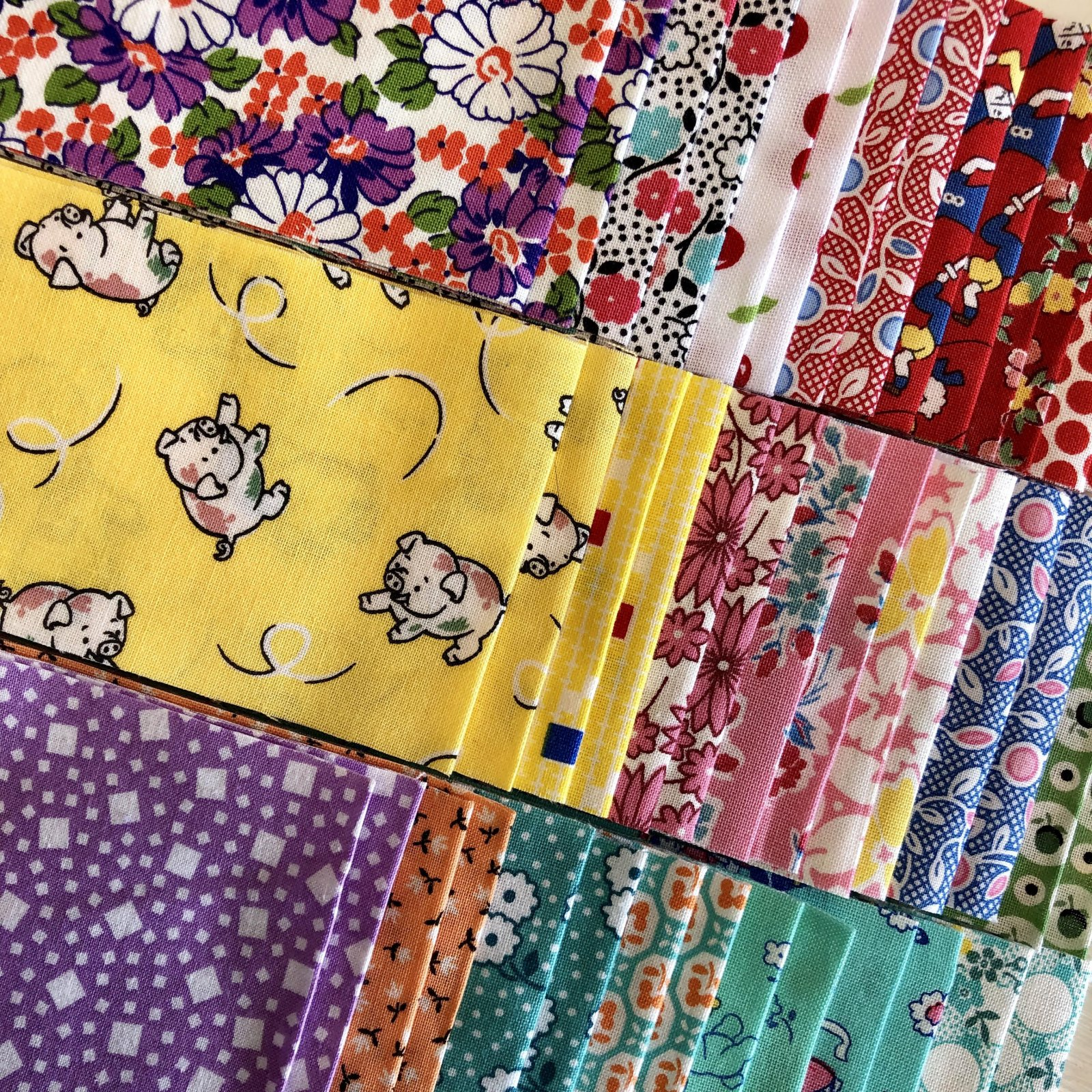 30s Reproduction - 2.5 inch strips