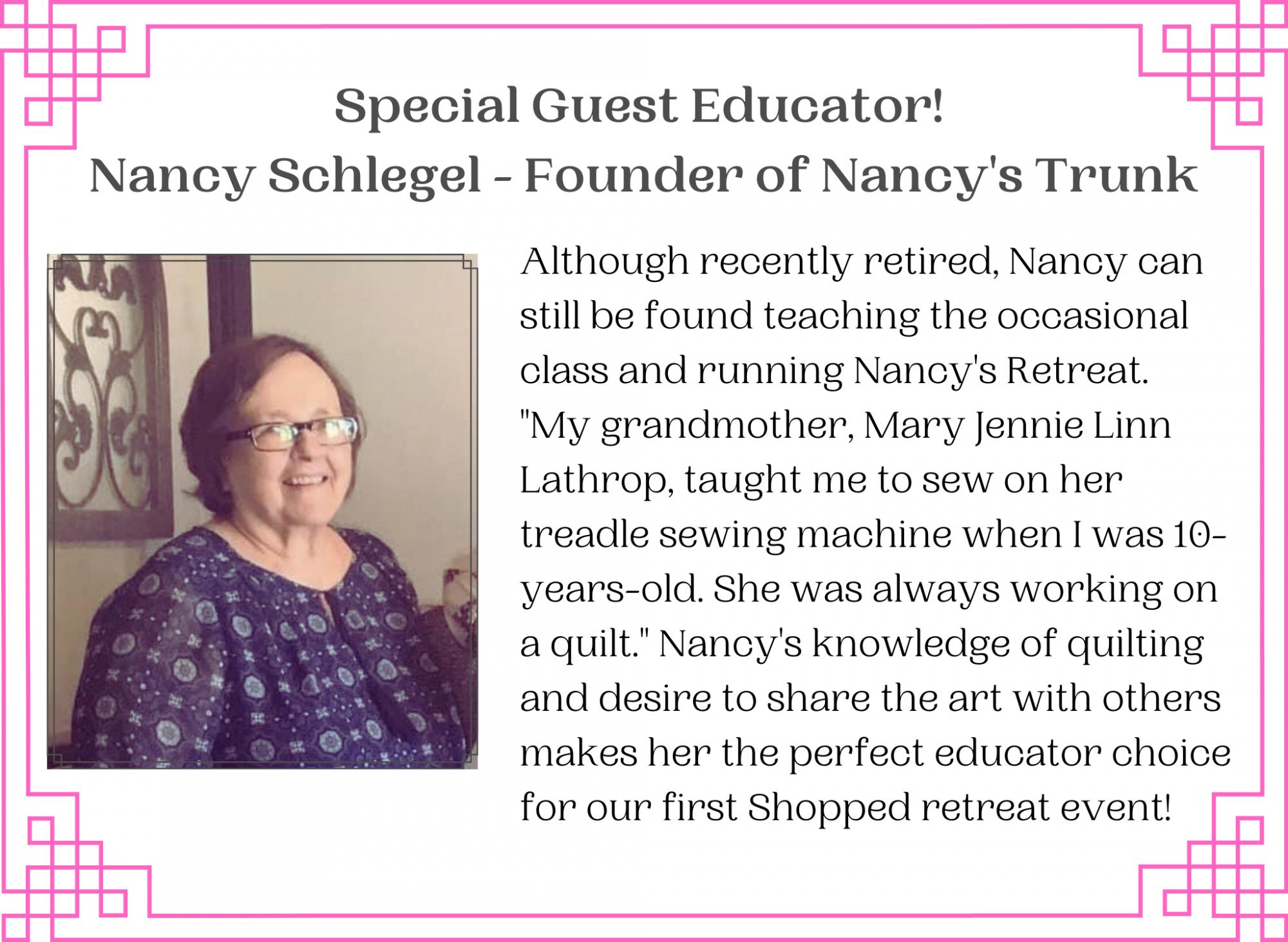nancy info