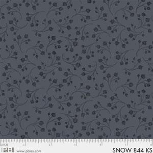 Snowmen Meadow Gray