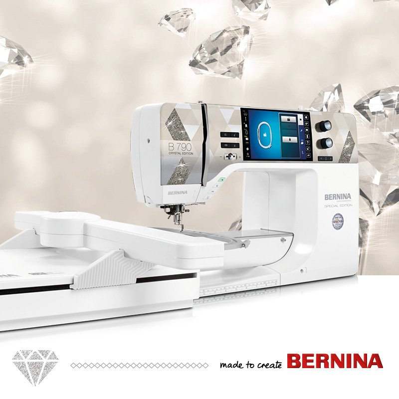 BERNINA B 790 PLUS CRYSTAL EDITION