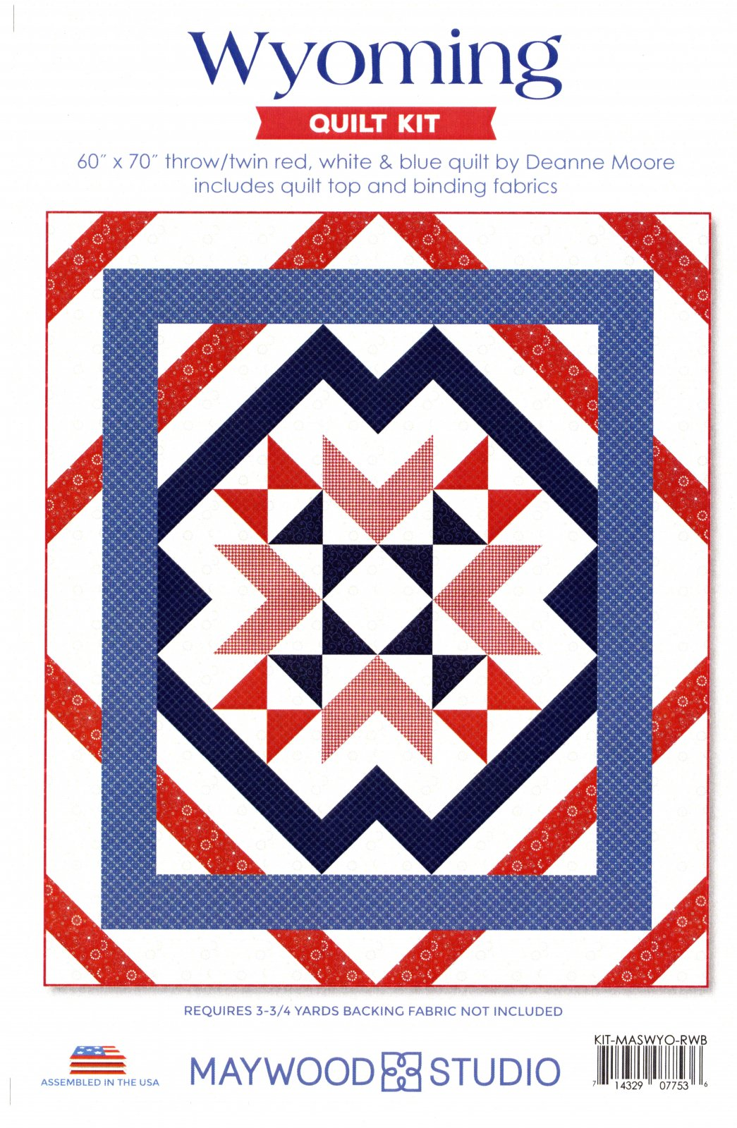 Wyoming Quilt Kit