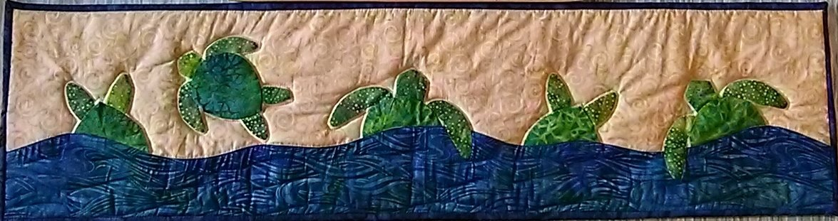 Turtles on the Sand - Row by Row 2015 Kit