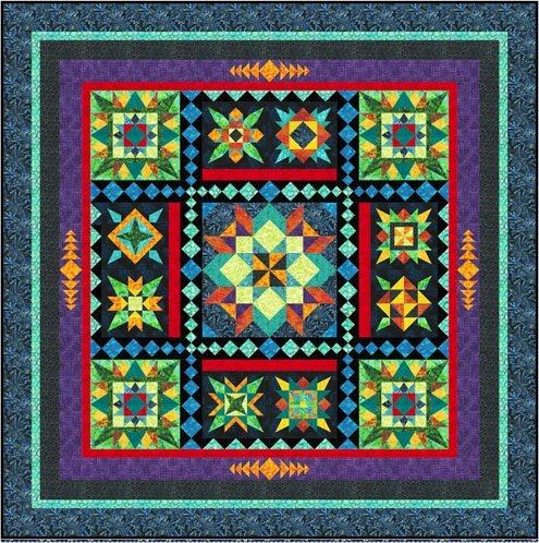 Black Jewels Block of the Month Sign Up - Mail order