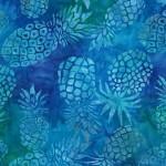MMiller Pineapple BatikTurquoise