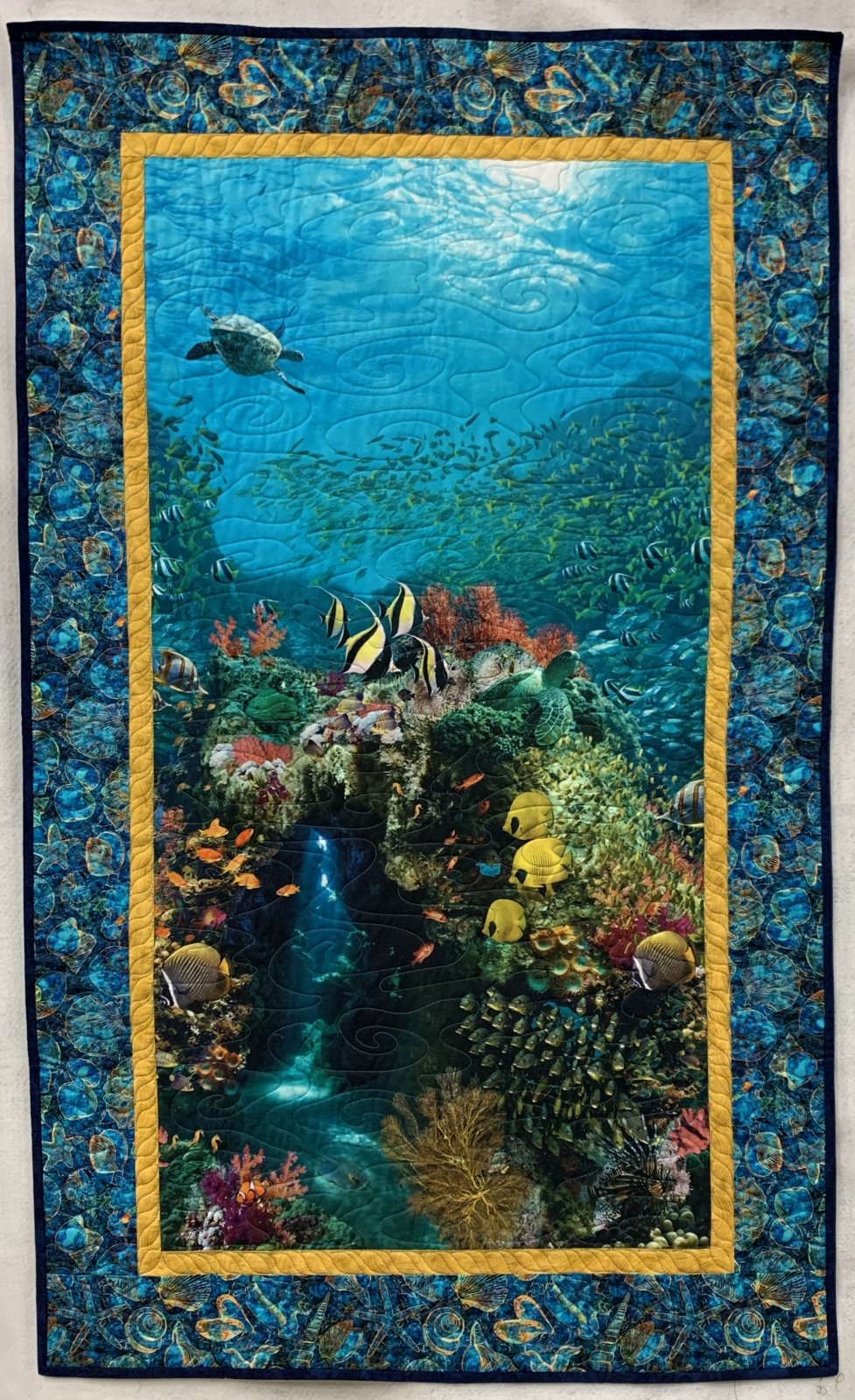Ocean Wallhanging - Sea Cave