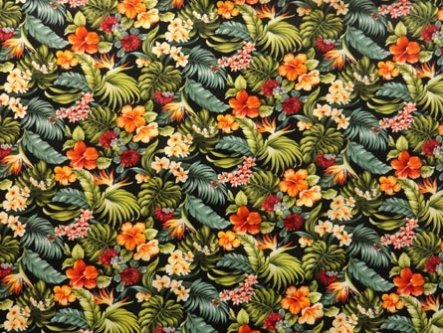 TransPacific LMH-09-646 - Black All Over Floral