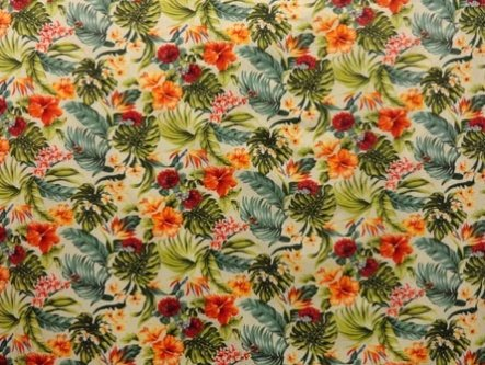 TransPacific LMH-09-646 - All Over Floral Beige