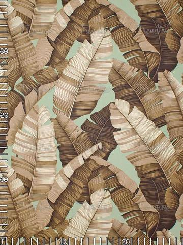 Sage Manele Barkcloth