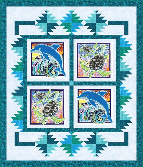 Sea Life Quilt Kit