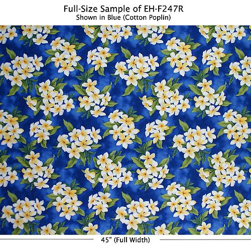 Trendtex Blue All Over Plumeria