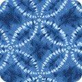 Kaufman Shibori Blues Circle Blue