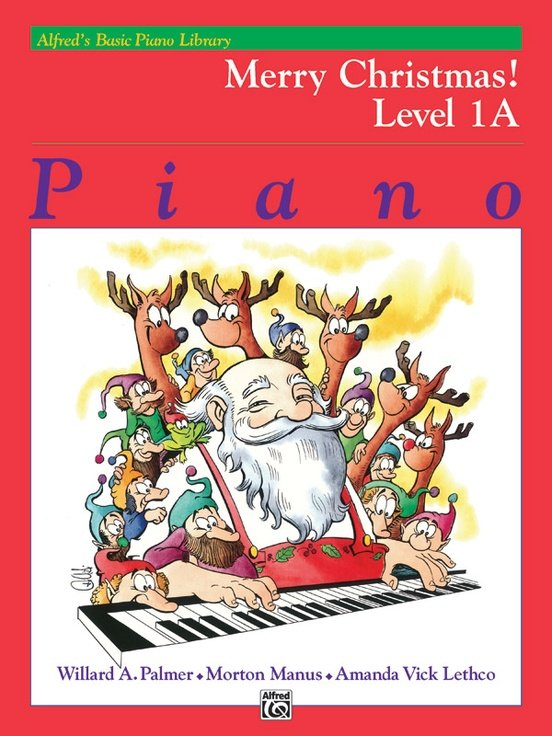 Alfred's Basic Piano Library Merry Christmas!