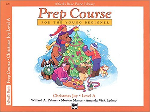 Alfred's Prep Course for the Young Beginner Christmas Joy