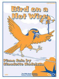 Bird on a Hot Wire by C. Hudelson