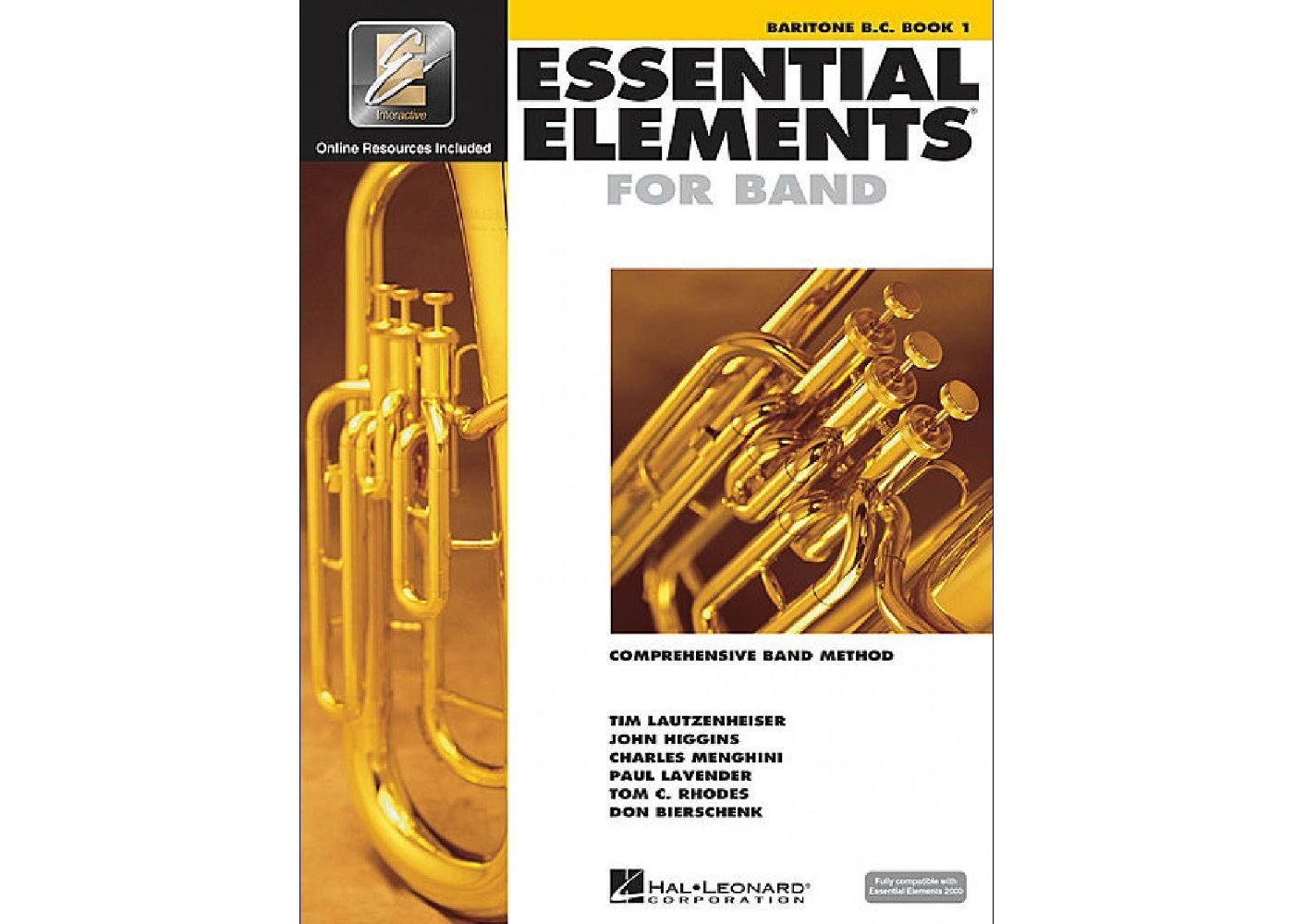 Essential Elements for Band BC Baritone book 1