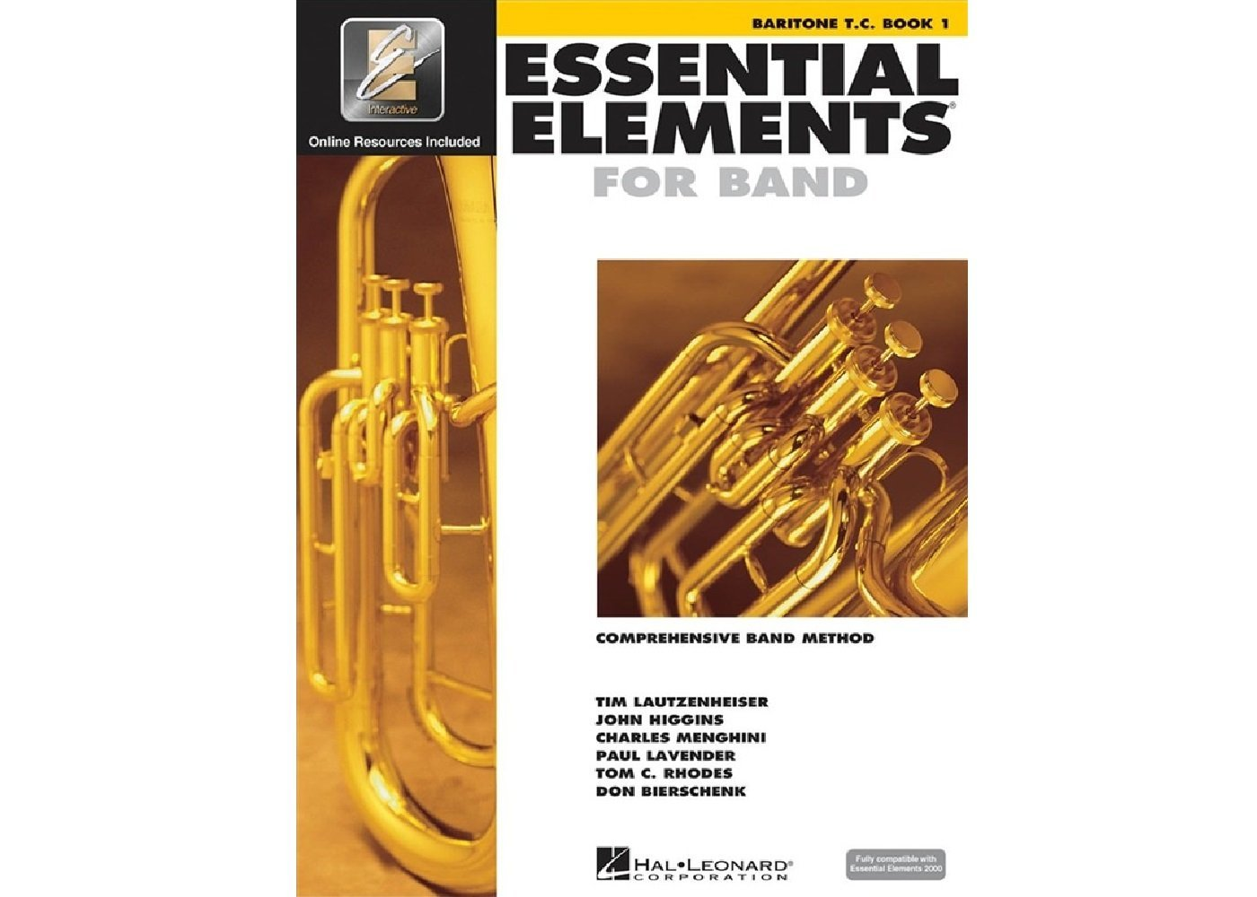 Essential Elements for Band TC Baritone book 1