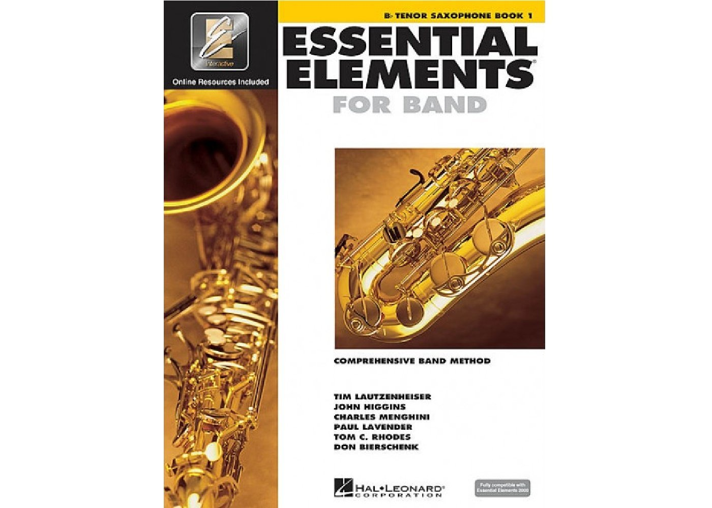 Essential Elements for Band Tenor Sax book 1