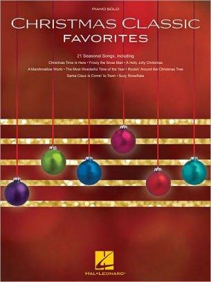Christmas Classic Favorites piano solo