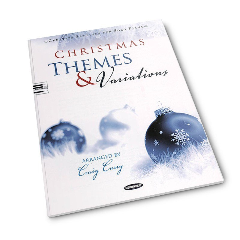 Christmas Themes & Variations Solo Piano Med Difficult arr by Craig Curry
