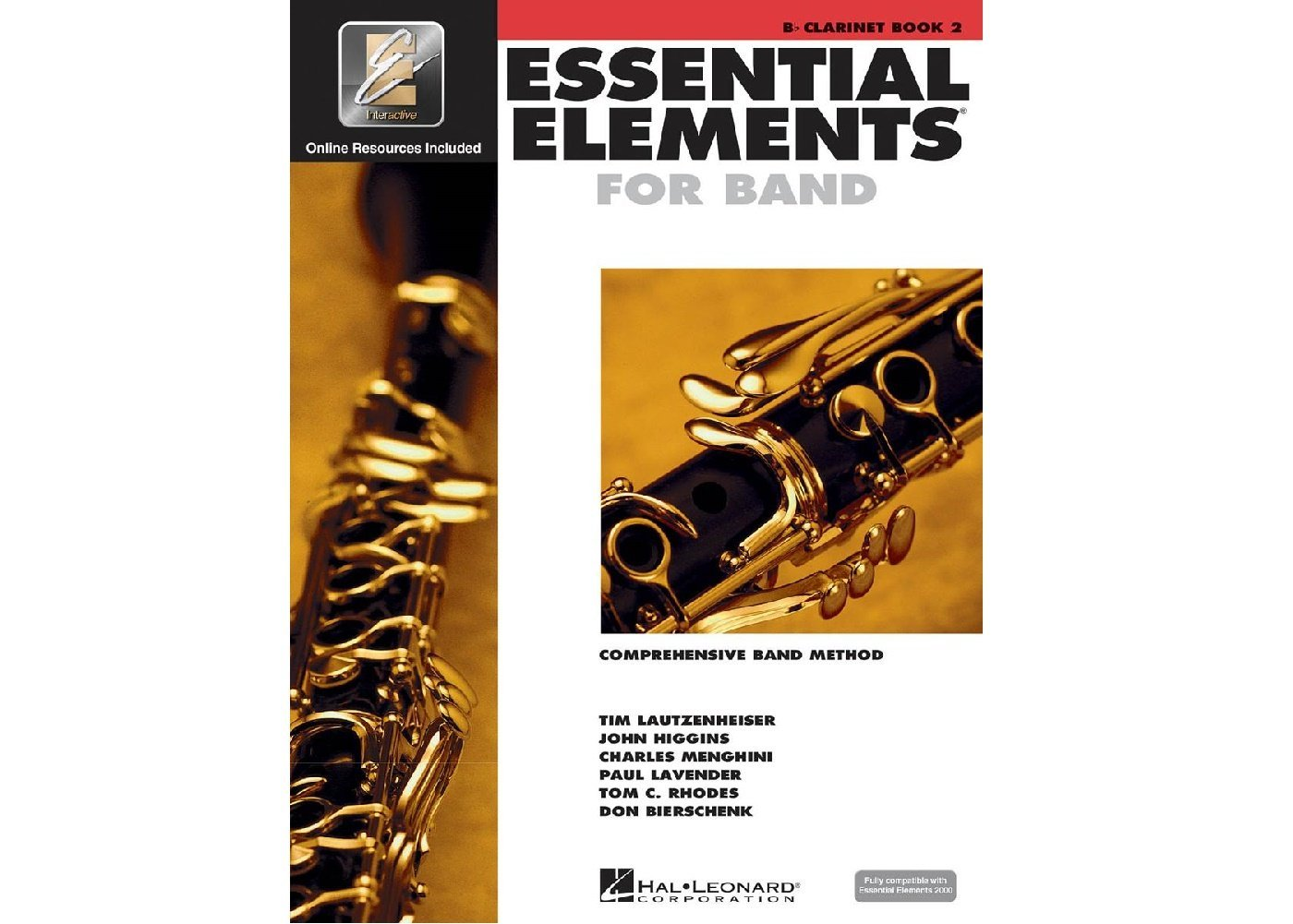 Essential Elements for Band Clarinet book 2