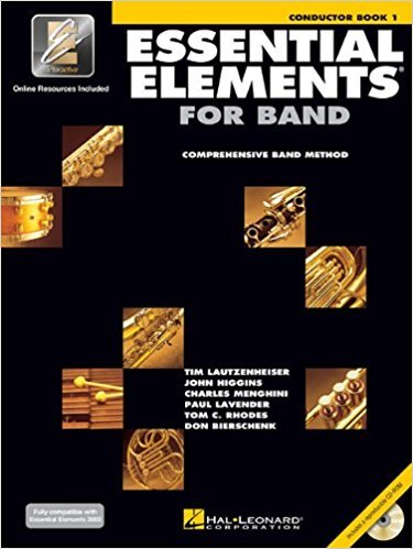 Essential Elements for Band Conductor book 1