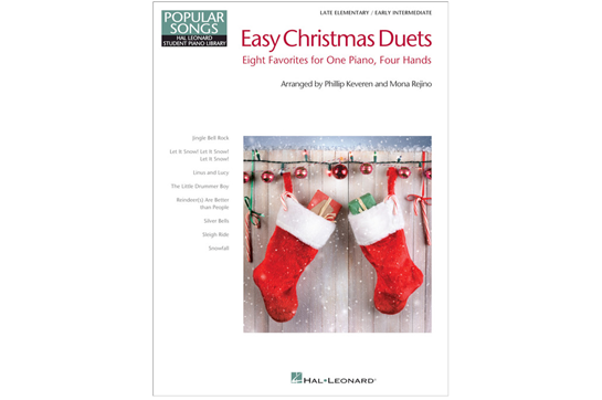 Easy Christmas Duets, one piano four hands