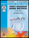 First Division Band Method Tenor Sax book 2