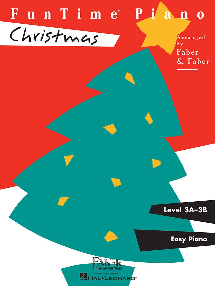 FunTime Piano Christmas Level 3A-3B by Faber and Faber