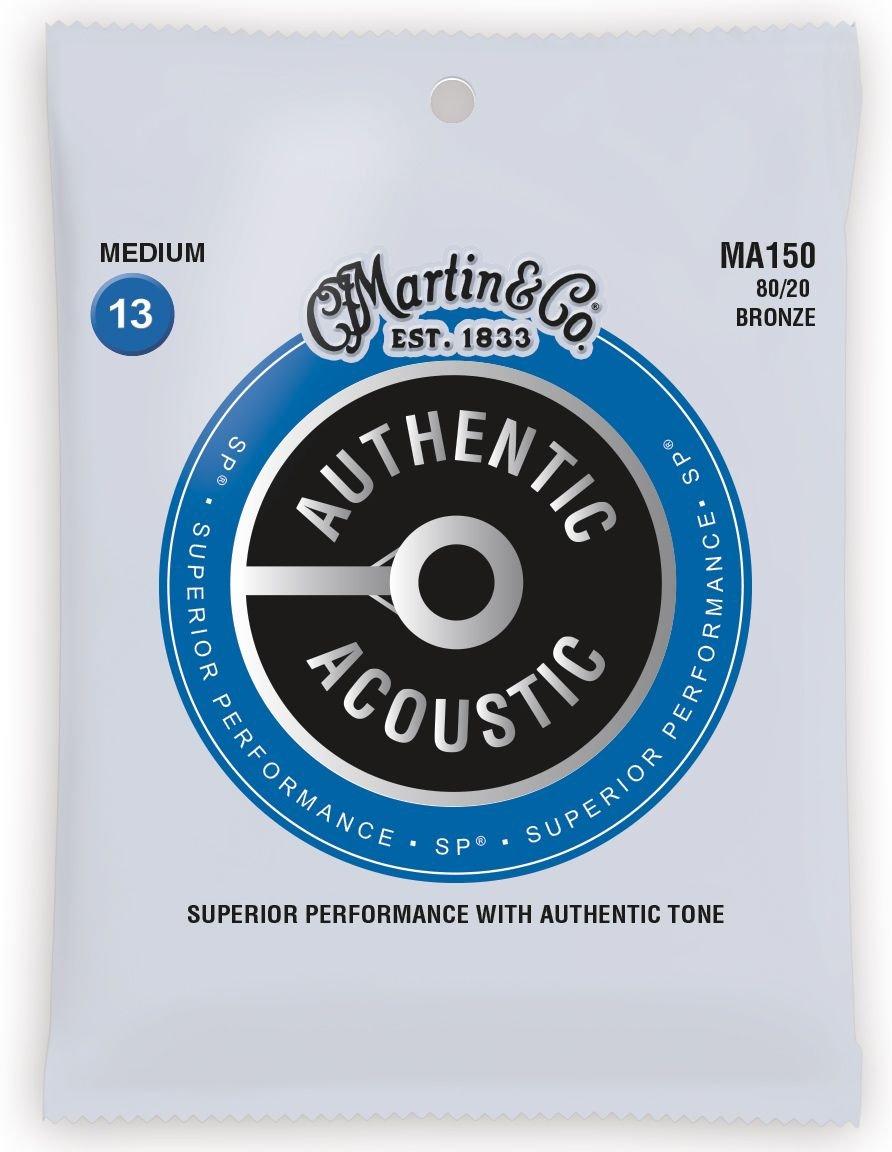 Martin 80/20 Bronze Acoustic Guitar Strings Medium