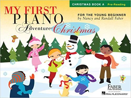 My First Piano Adventure Christmas by Faber and Faber