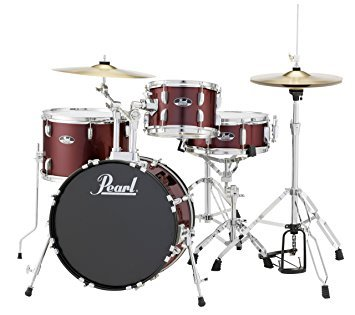Pearl Roadshow 4-piece Drumset with cymbals