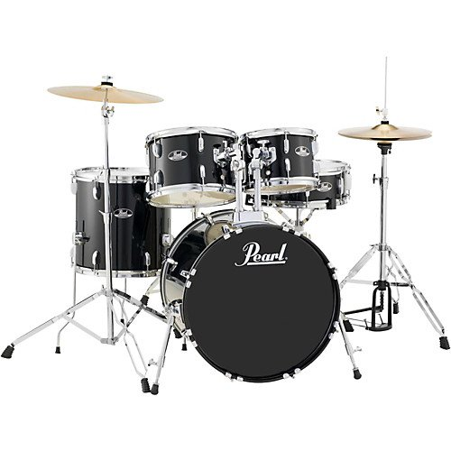 Pearl Roadshow 5-piece Drumset with Cymbals