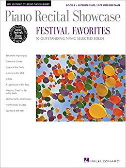 Piano Recital Showcase: Festival Favorites book 2