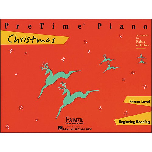 PreTime Piano Christmas Primer level by Faber and Faber
