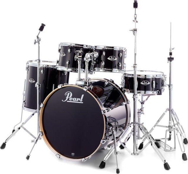 Pearl Export EXX 5-piece drumset, Black