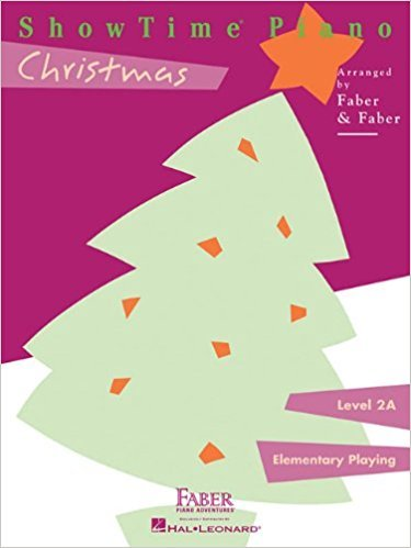 ShowTime Piano Christmas Level 2A Faber and Faber