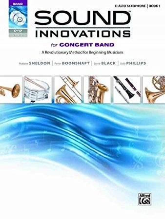 Sound Innovations for Concert Band Alto Sax book 1