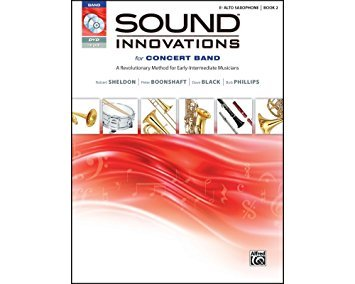 Sound Innovations for Concert Band Alto Sax book 2