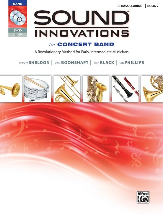 Sound Innovations for Concert Band Bass Clarinet book 2